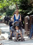 Michelle Williams Strolling with Baby in Brooklyn, June 18