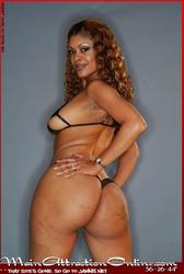 Celeste 'The Main Attraction' Bulger's sexy thick ebony body: image 30