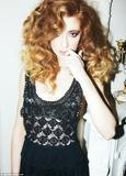 Nicola Roberts January�s issue of LOOK magazine 2012