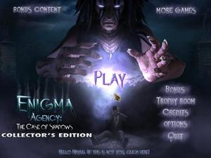 Enigma Agency: The Case of Shadows - Collector&#039;s Edition