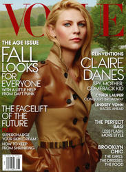 Claire Danes x6 Vogue (US) August, 2013