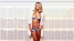 Kaley Cuoco - Hot Lingerie Wallpaper - 1x - 1920 x 1080